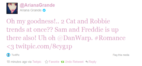 laterade:  Ariana knows what's up. ;D