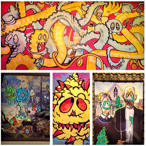 #DD #doubleD #SFK! #artshow #forsale #gettherewhileyoucan! (Taken with Instagram at Spedellis )