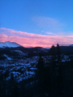 Colorado's sunset :)