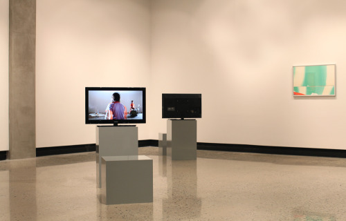 Acey Deucey (installation view), Gatewood Gallery, UNC-Greensboro, January, 2012