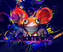 psychedelic-trips:  Deadmau5by *anthony-g