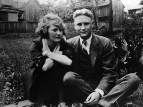 screamingcantabile:  F. Scott Fitzgerald and Zelda Fitzgerald