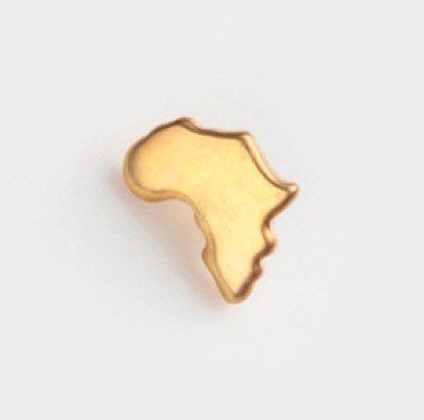 rainbow-c-o-l-o-u-r-s:  map of africa gold charm