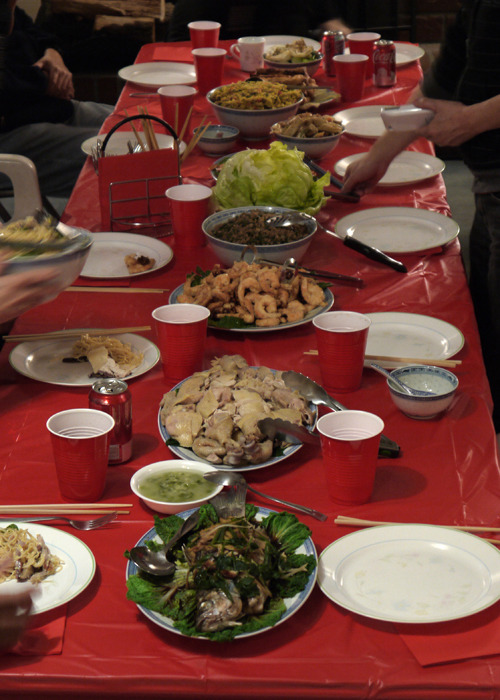 Chinese New Year feast!