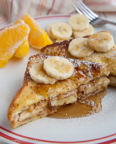 PB Banana French Toast, my kind of breakfast