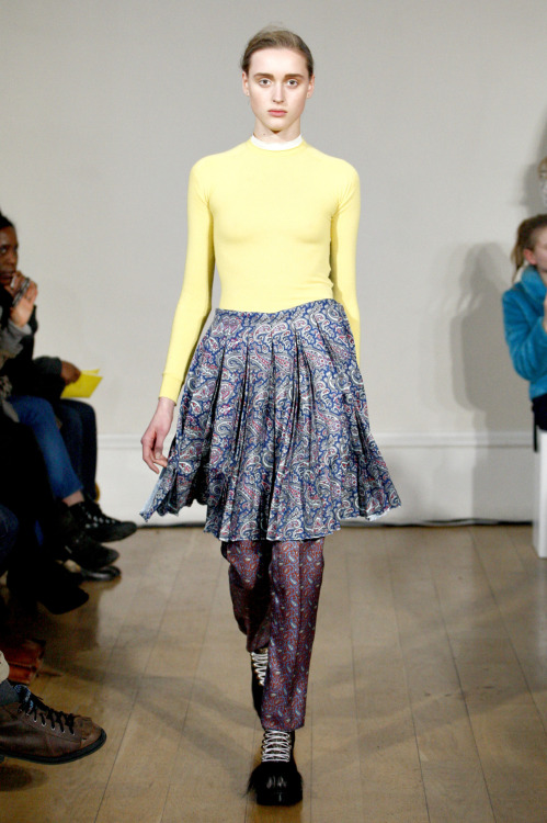 J.W Anderson. I want that skirt!