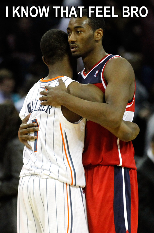 JOHN WALL KNOWS THAT FEEL BRO