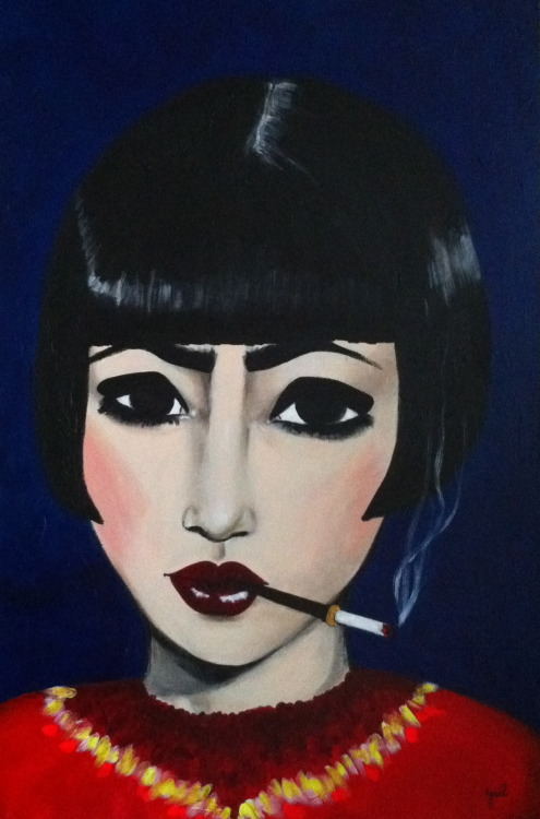 THELMA Acrylic on canvas. 60 x 90