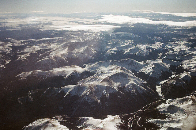 The Rockies in Winter by Parker Fitzgerald on Flickr.