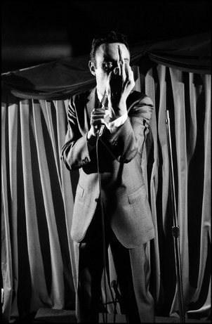 Lenny Bruce, 1959. Dennis Stock / Magnum Photos