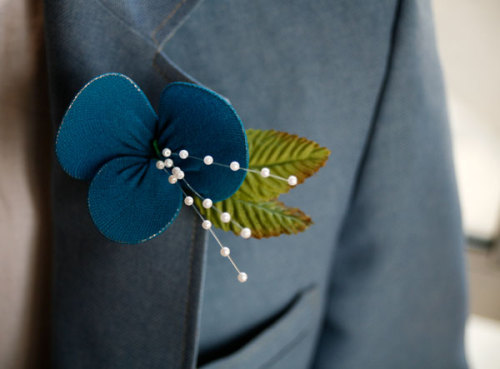 scissorsandthread DIY Boutonnieres Intimate Weddings Though I don 39t think