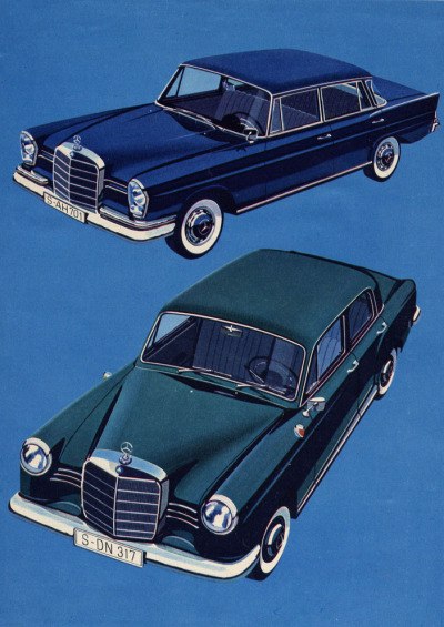 process-vision:  1959 Mercedes-Benz