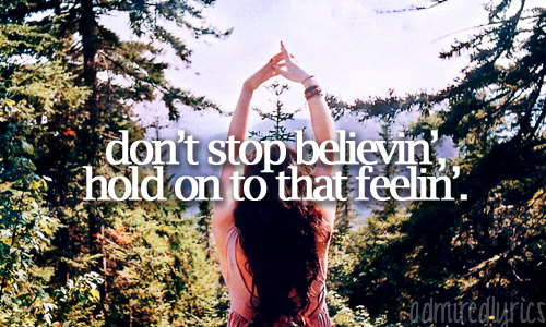 Don't Stop Believin' - Journey [x]