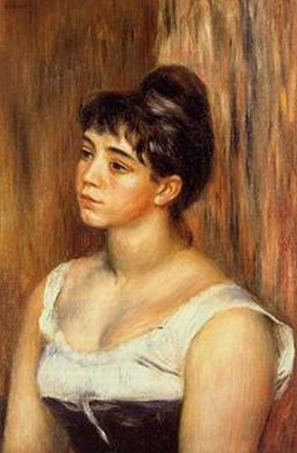 Pierre Auguste Renoir, Portrait de Suzanne Valadon Valadon became an artist herself after being a model.