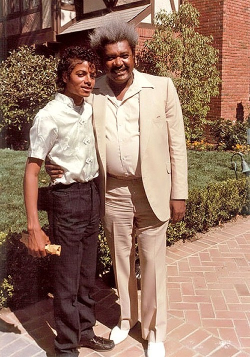 Michael Jackson & Don King