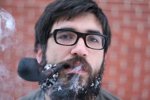 Snowbeard, Pipesmoke by Miguel Draws on Flickr.