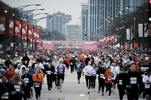 exercisekillsdepression:  can't wait to run through the streets of chicago! 8 weeks!