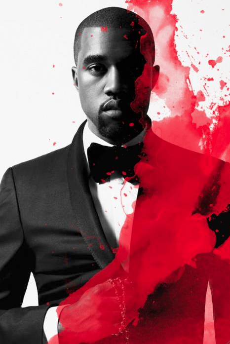Knowing Ye and his theatrical ways, that's probably blood…