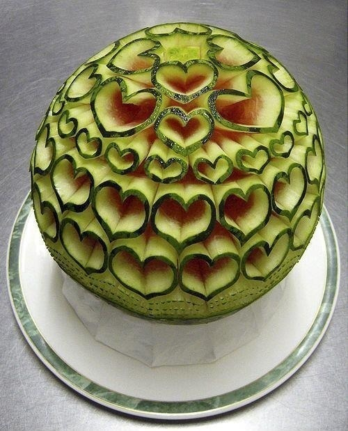 Watermelon Sculpting Level : OVER 9000