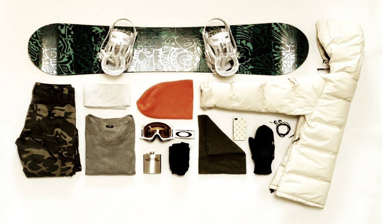 SUBMISSION: The snowboard setup of a lady.
