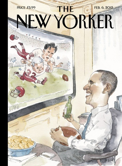 brooklynmutt:  @BuzzFeedBen: Fantastic New Yorker cover, h/t @mikeallen  Clever is as clever does.
