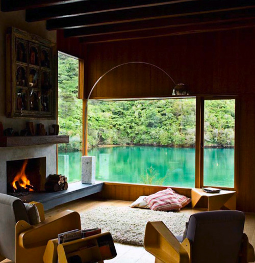 kateoplis:  Waterfall Bay House