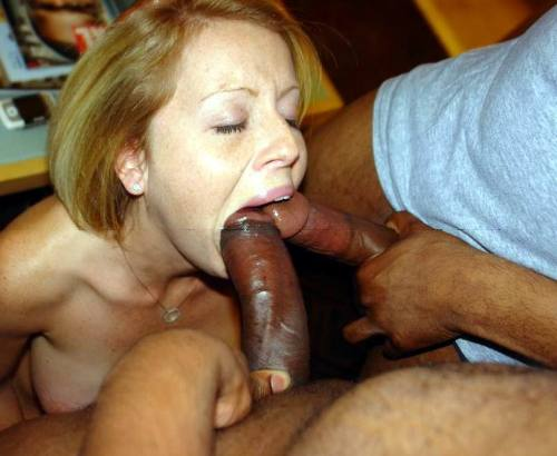 Black girl with big mouth