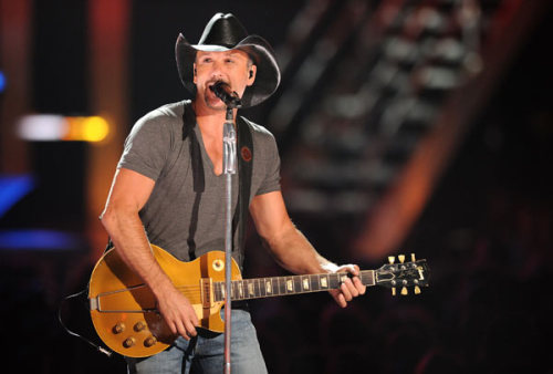 Tim McGraw in Concert.