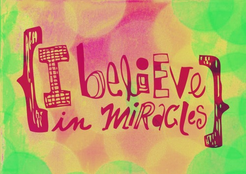 I Believe in Miracles - Ramones buy this print here.