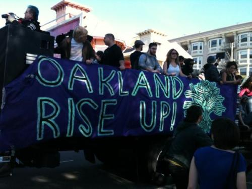 occupyonline:  Oakland protests on January 28, 2012