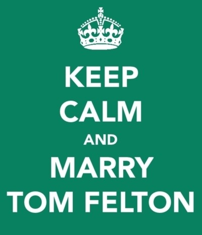 potterheadstuffs:  marry me tom felton!  Done.