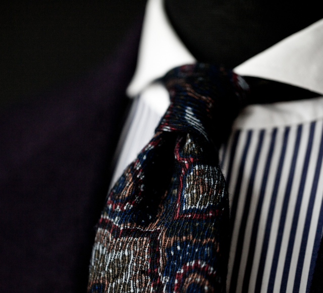 incorporeus:  Bespoke Tie by Manolo Costa