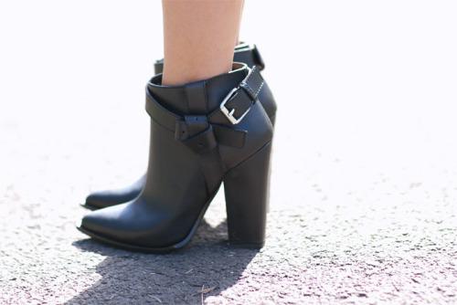 Thakoon knotted harness boots want.