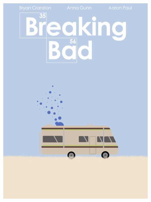 minimalmovieposters:  Breaking Bad by Andrew Tucker