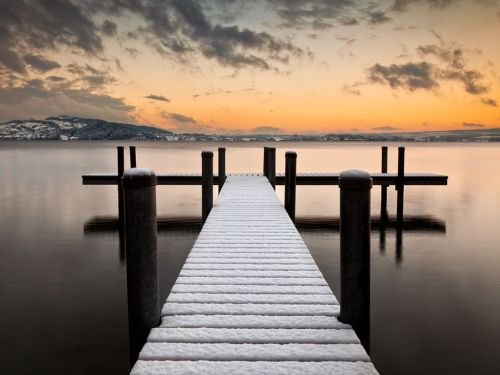 Lake of Zug, Switzerland Photograph by Ingo Meckmann