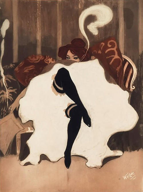 (via Posters & Illustration / Lucien-Henri Weiluc)
