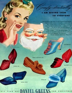 Daniel Greens Slippers - 1942
