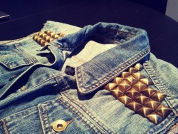studded jeans vest! just the beginin'