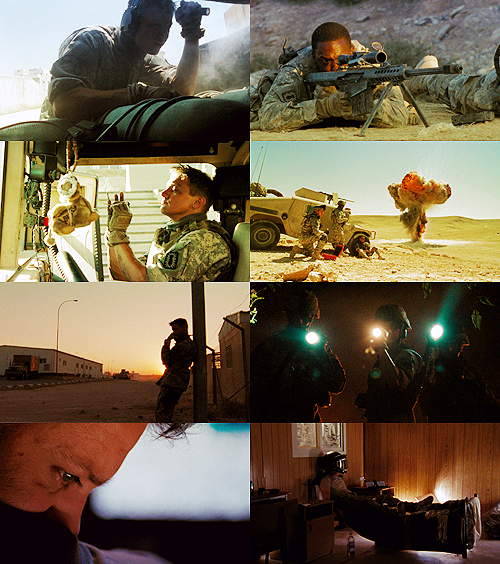 "peetabreadandkatnip:  Movies in 2012: The Hurt Locker   ""The older you get, the fewer things you really love. And by the time you  get to my age, maybe it's only one or two things. With me, I think it's  one."""