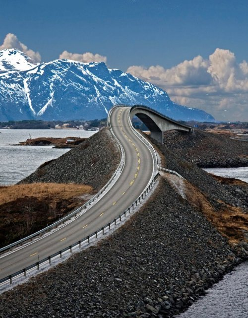 The Drunk Bridge, Norway photo via imgur