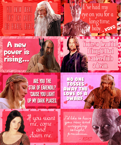 valentine's day lord of the rings