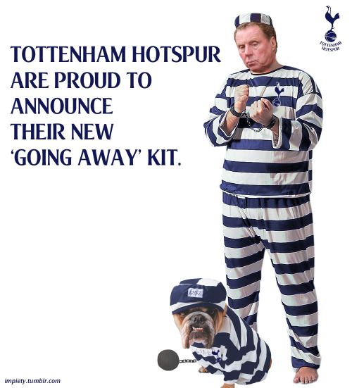 Spurs new 'going away' kit