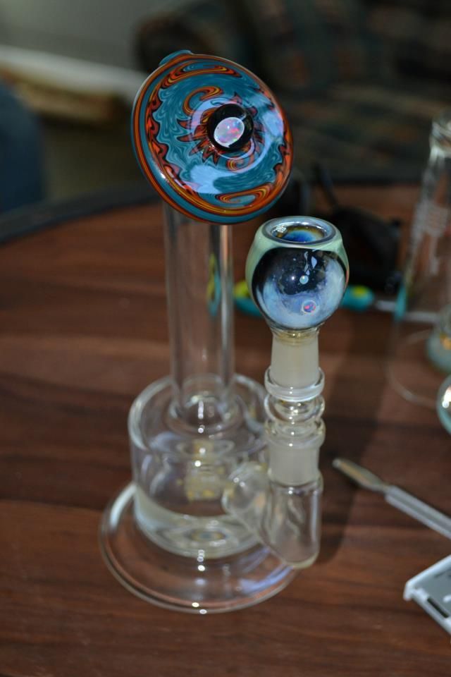 A Toro Micro with a worked mouth piece. with an opal! :)