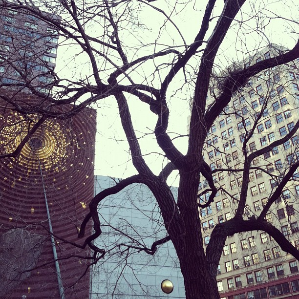 """we are so lucky."" - emily  (Taken with Instagram at Union Square Park)"