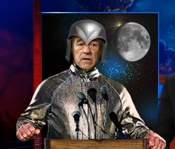 the leader of MOONLANDIA as appointed by Newt Gingrich… I <3 Ron Paul tho srsly.