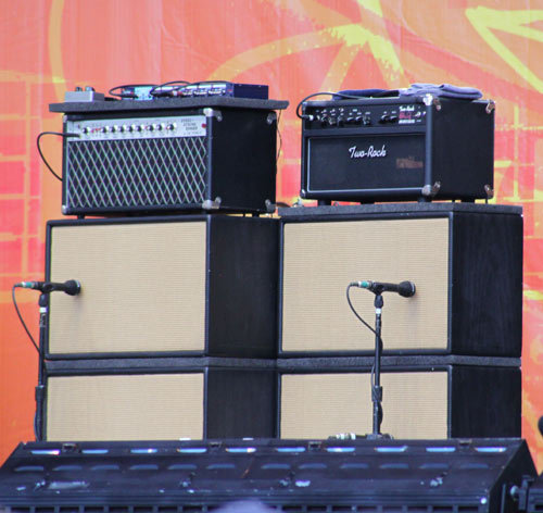 John Mayer's amps at Crossroads 2010: Dumble Steel String Singer and Two-Rock John Mayer Signature