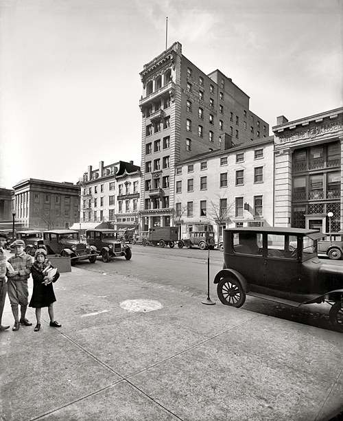 Washington, D.C., circa 1928. Barrister Building, F Street N.W.