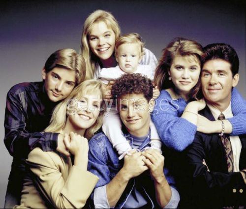 Growing Pains cast in 1989