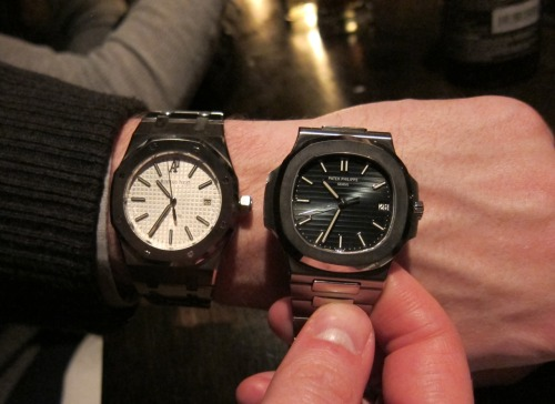 If given the choice, would you take the AP Royal Oak 15300 or the Patek Nautilus 5711? Let's hear it.