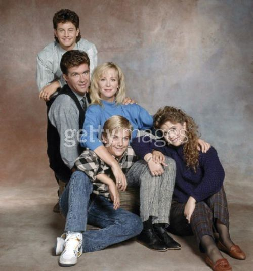 Growing Pains cast in 1988.